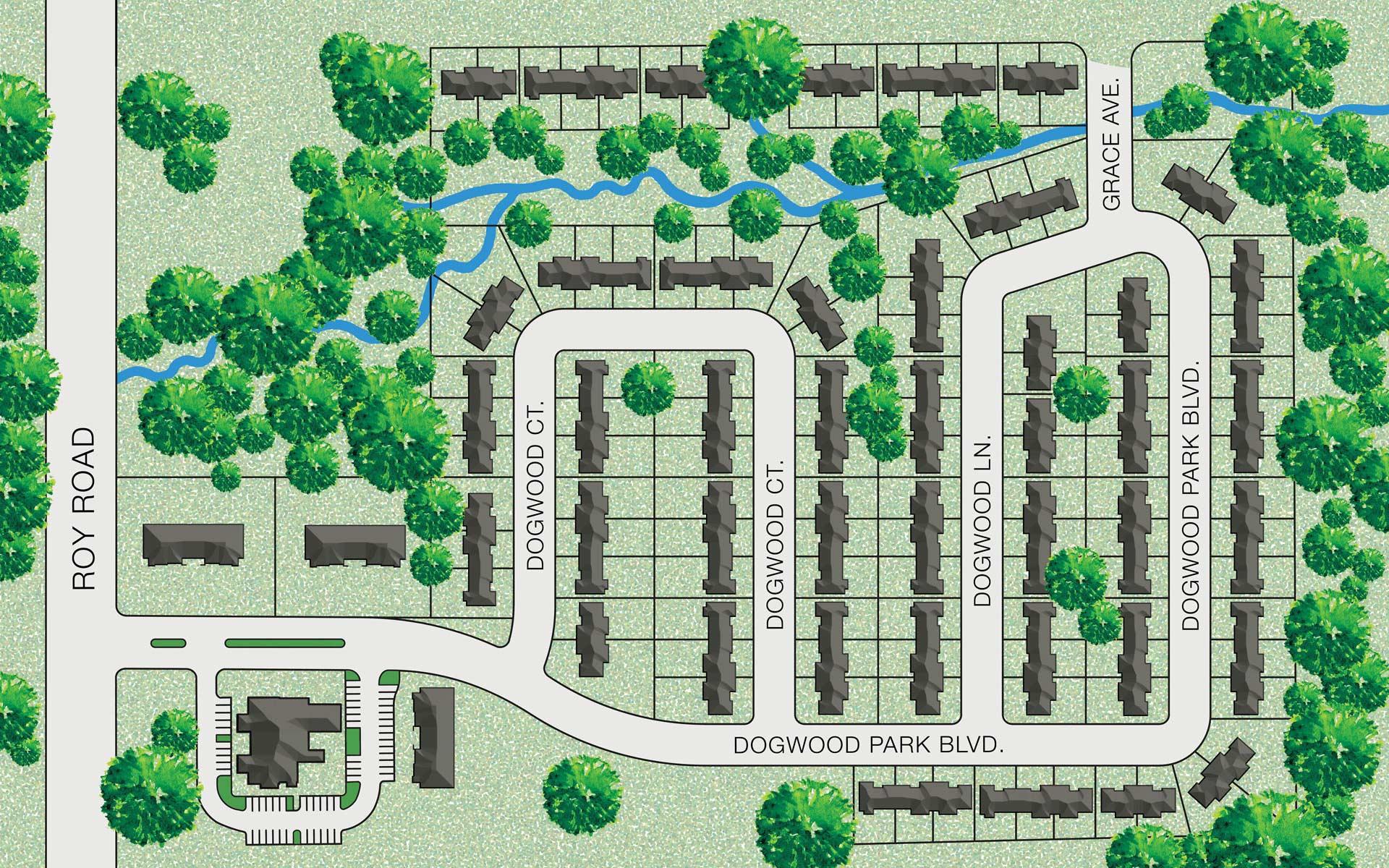 Dogwood Park Site Plan